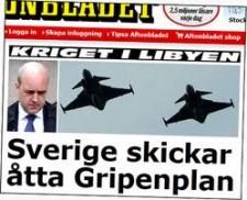 Libyen Sverige skickar plan imagesCADORPI