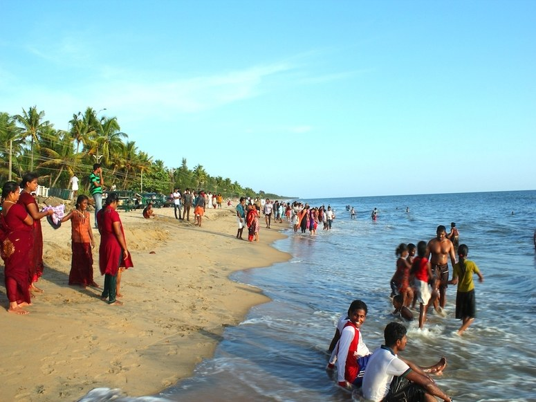 cherai beach kochi kerala india