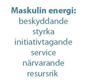 maskulin energi
