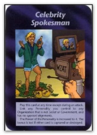 illuminati card celebrity spokesman e