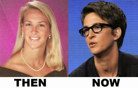 Rachel Maddow Yearbook Then Now Feminism