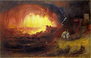 John Martin Sodom and Gomorrah